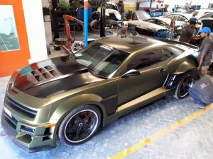 Custom Car Body Modification