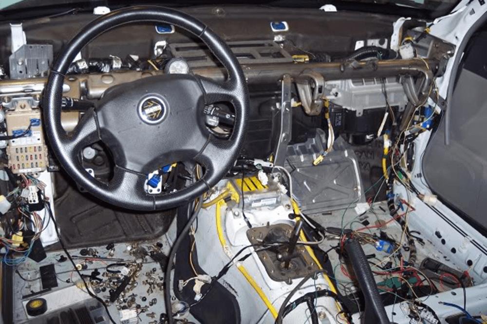 Car Electrical dashboard