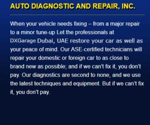 auto diagnostics